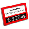 Taxom 800 Multiframe red 52x17mm