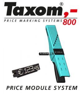 Taxom 800 Price Label System