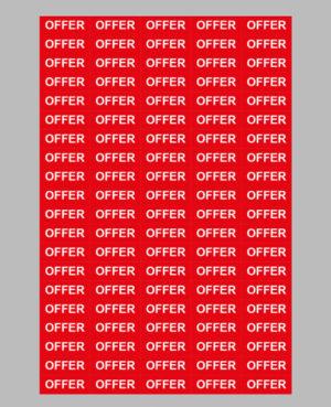 Taxom-500-Price-Label-Sheet-32x12-501-670
